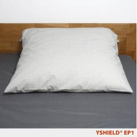 Taie d'oreiller de Earthing EP1 YShield, carrée