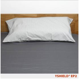 Taie d'oreiller de mise à la terre (earthing) EP2 YShield, rectangulaire