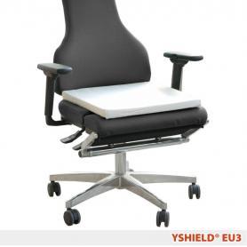 Coussin de mise à la terre (earthing) EU3 YShield, pour sièges et canapés