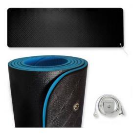 Tapis de yoga et fitness de mise à la terre Earthing
