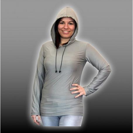 Sweat-shirt anti-ondes TEO YShield en tissu Silver-Elastic
