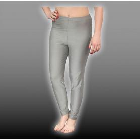 Caleçon long legging anti-ondes TEU YShield en tissu Silver-Elastic