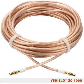 Câble de mise à la terre GC-1000 YShield, longueur 10 mètres