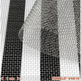 Grillage moustiquaire anti-ondes YShield V4A10 hautes et basses fréquences