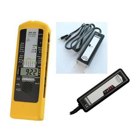 Mesureur BF Gigahertz Solutions NFA400 + sondes ES-NFA et MS3-NFA - Appareils de démonstration