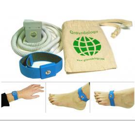 Bracelet de mise à la terre (earthing)