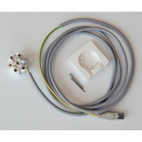 Câble USB de mise à la terre Danell pour modem et ordinateur portable