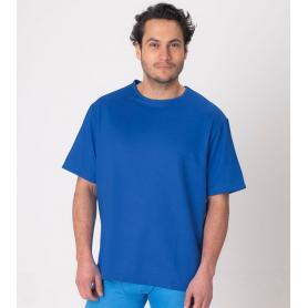 Tee-shirt anti-ondes Leblok à manches courtes pour homme - bleu
