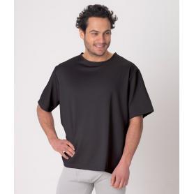 Tee-shirt anti-ondes Leblok à manches courtes pour homme - noir