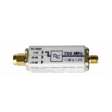 Filtre passe-haut HP700 Gigahertz Solutions
