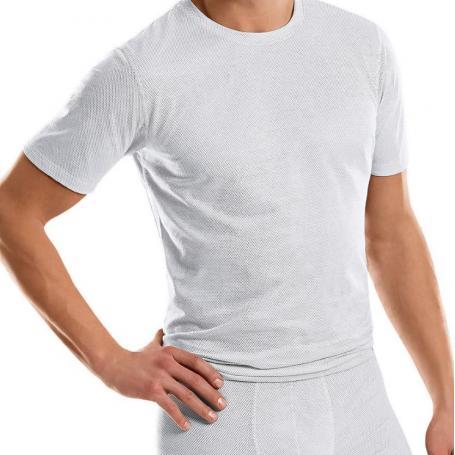 Tee-shirt anti-ondes Antiwave pour homme manches courtes - blanc