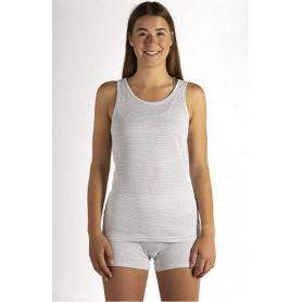 Débardeur anti-ondes Wavesafe pour femme coton bio - Blanc