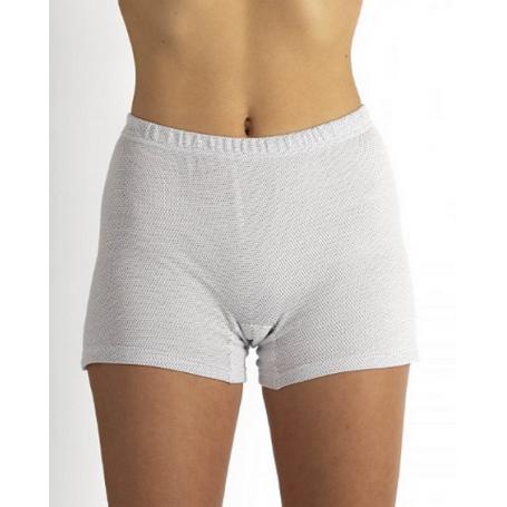 Panty anti-ondes Wavesafe pour femme coton bio   Blanc