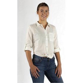 Chemise anti-ondes à nouer en tissu Swiss Shield Ultima pour femme