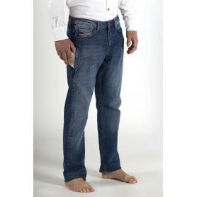 """Jean homme coton bio Torland """"Innovator"""" avec poche protectrice pour téléphone portable"""