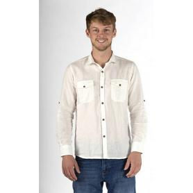 Chemise anti-ondes Casual en tissu Swiss Shield Ultima pour homme