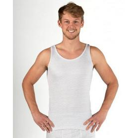 Débardeur anti-ondes Wavesafe pour homme coton bio - blanc