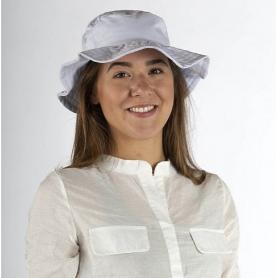 Chapeau anti-ondes Wavesafe doublé en tissu Swiss Shield Ultima - gris clair