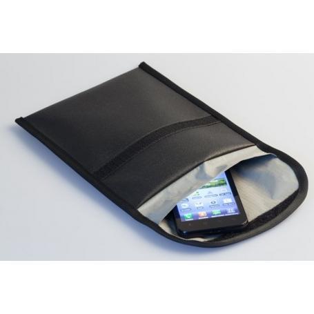 Etui anti-ondes Wavesafe blindage total pour téléphone portable, clé de voiture, carte bancaire, etc.