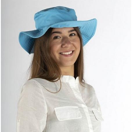 Chapeau anti-ondes Wavesafe doublé en tissu Swiss Shield Ultima - bleu turquoise
