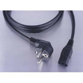Câble de raccordement PC blindé noir 2 mètres Danell