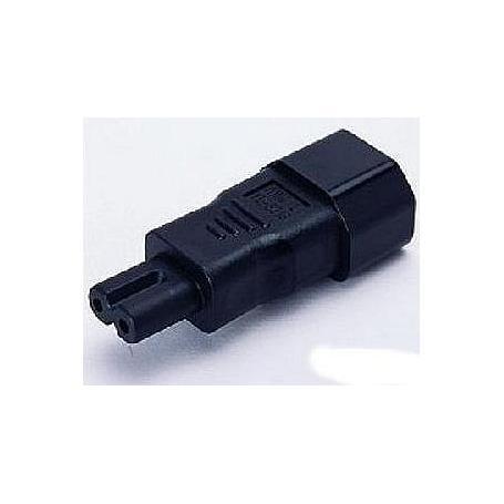 Adaptateur 2 pôles pour câble de raccordement PC blindé Danell