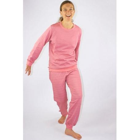 Tenue de loisirs anti-ondes WaveSafe pour femme coton bio - rose