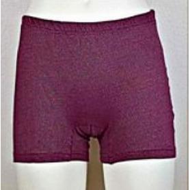 Panty anti-ondes Wavesafe pour femme coton bio - bordeaux