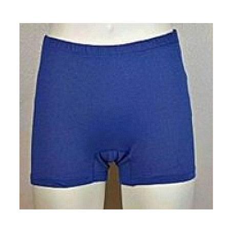 Panty anti-ondes Wavesafe pour femme coton bio - bleu roi