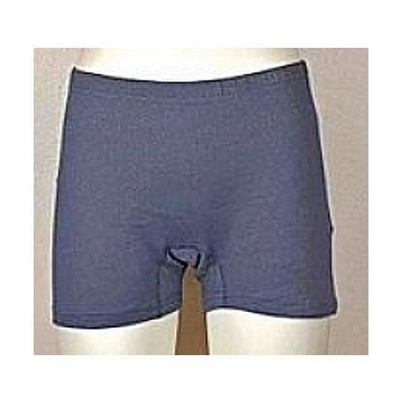 Panty anti-ondes Wavesafe pour femme coton bio - gris anthracite