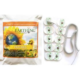 Kit complet de patchs de mise à la terre Earthing