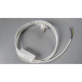 Câble blindé de remplacement lampe avec interrupteur bipolaire Danell