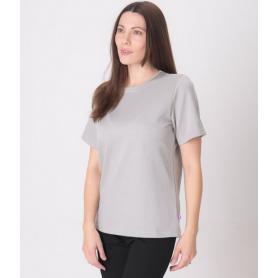 Tee-shirt anti-ondes Leblok à manches courtes pour femme | Gris