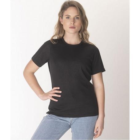 Tee-shirt anti-ondes Leblok à manches courtes pour femme   Noir