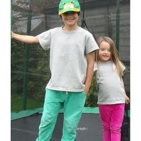 Tee-shirt anti-ondes Leblok mixte pour enfants - gris