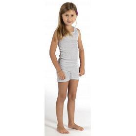 Panty anti-ondes Wavesafe pour fille coton bio - blanc