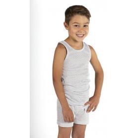 Boxer anti-ondes Wavesafe pour garçon coton bio - blanc