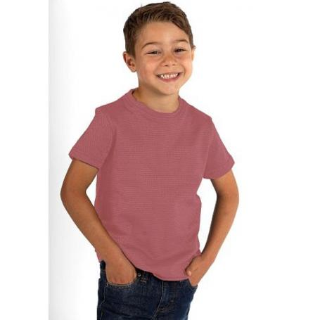Tee-shirt anti-ondes Wavesafe mixte pour enfant en coton bio manches courtes - rose