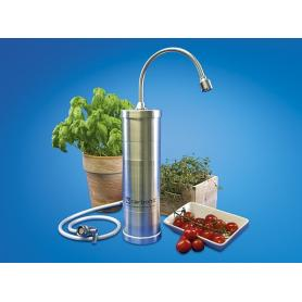 Filtre à eau sur évier Carbonit SanUno Design Inox-F (avec support)