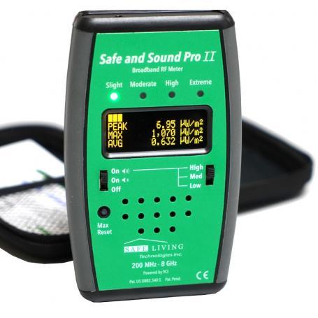 Mesureur hautes fréquences Safe and Sound Pro II SAFE LIVING