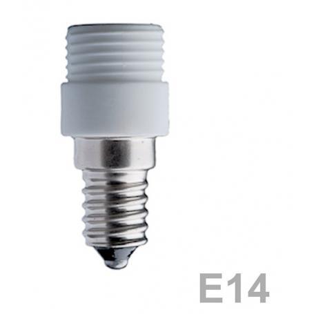 Douille en céramique E14 pour capsule halogène G9