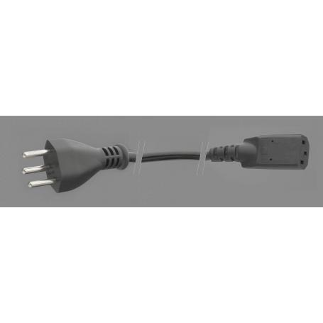 Câble d'alimentation PC blindé Danell connectiques suisses