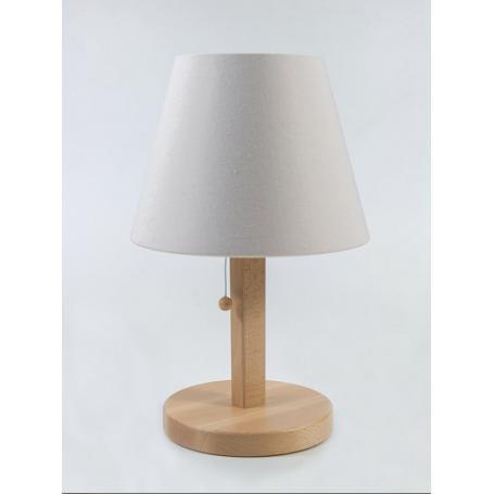 Lampe de chevet blindée Danell | Coton nature