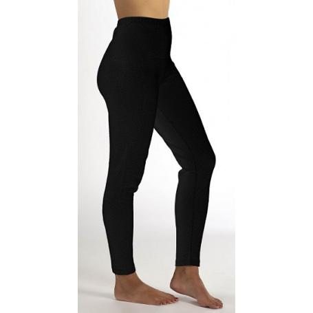 Legging anti-ondes Wavesafe pour femme coton bio | Noir