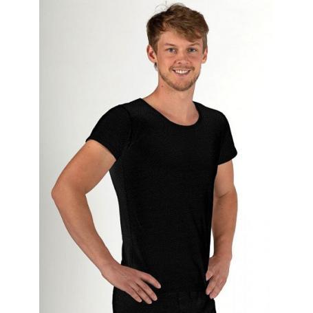 Tee-shirt anti-ondes Wavesafe pour homme coton bio manches courtes    Noir