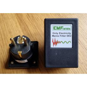 Filtre EMFields DE2  électricité sale et CPL Linky