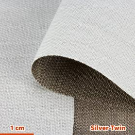 Tissu de protection anti-ondes hautes et basses fréquences Silver-Twin YShield