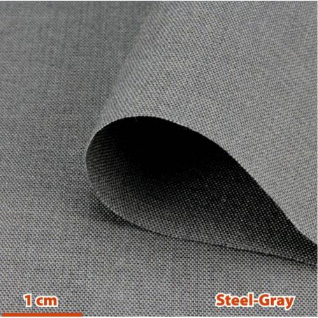 Tissu de protection anti-ondes hautes et basses fréquences Steel-Gray YShield