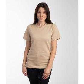 Tee-shirt anti-ondes Leblok à manches courtes pour femme | Beige