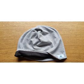 Bonnet anti-ondes réversible Protect Onde | Noir / gris